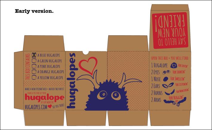 Hugalopes Packaging