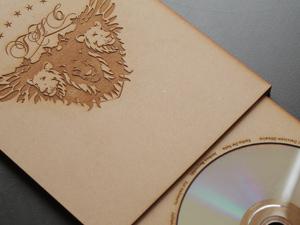 Laser cut DVD case