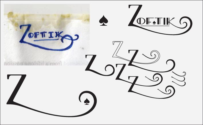 Zaftik sketches (Art Deco)